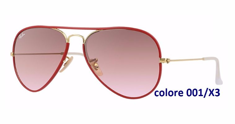 60081298380f2 Shoppinglasses.com - RAY-BAN Aviator Full Color